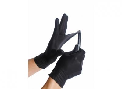 Εξεταστικά γάντια μαύρα νιτριλίου Aurelia Bold 56791c81984
